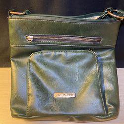 Green Sag Harbor Crossbody Shoulder Bag Thumbnail