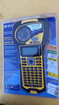 Brady BMP21-PLUS Handheld Label Printer with Rubber Bumpers Thumbnail