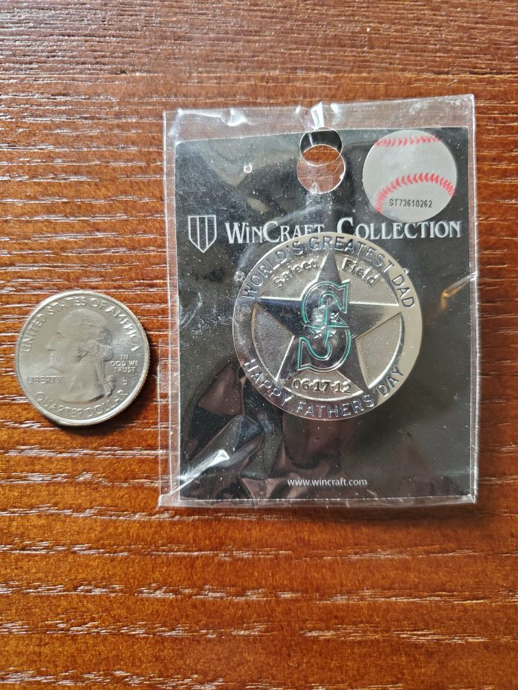 Seattle Mariners Collectors Pin