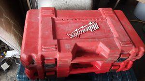 18 or 14.4 Milwaukee drill case for Sale in Orange City, FL