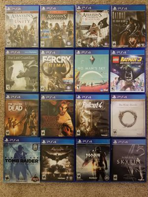 PS4 Games, PS3 Games, and a PS3 for Sale in Fairfax, VA