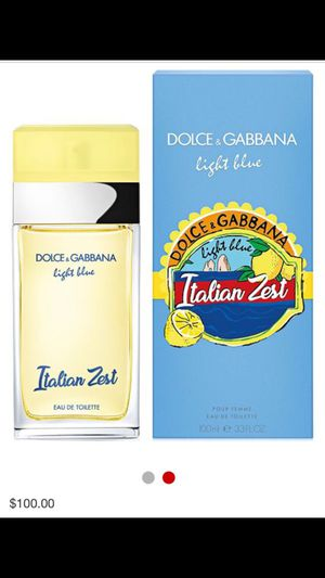 Dolce & Gabbana light blue Italian zest for Sale in St. Louis, MO