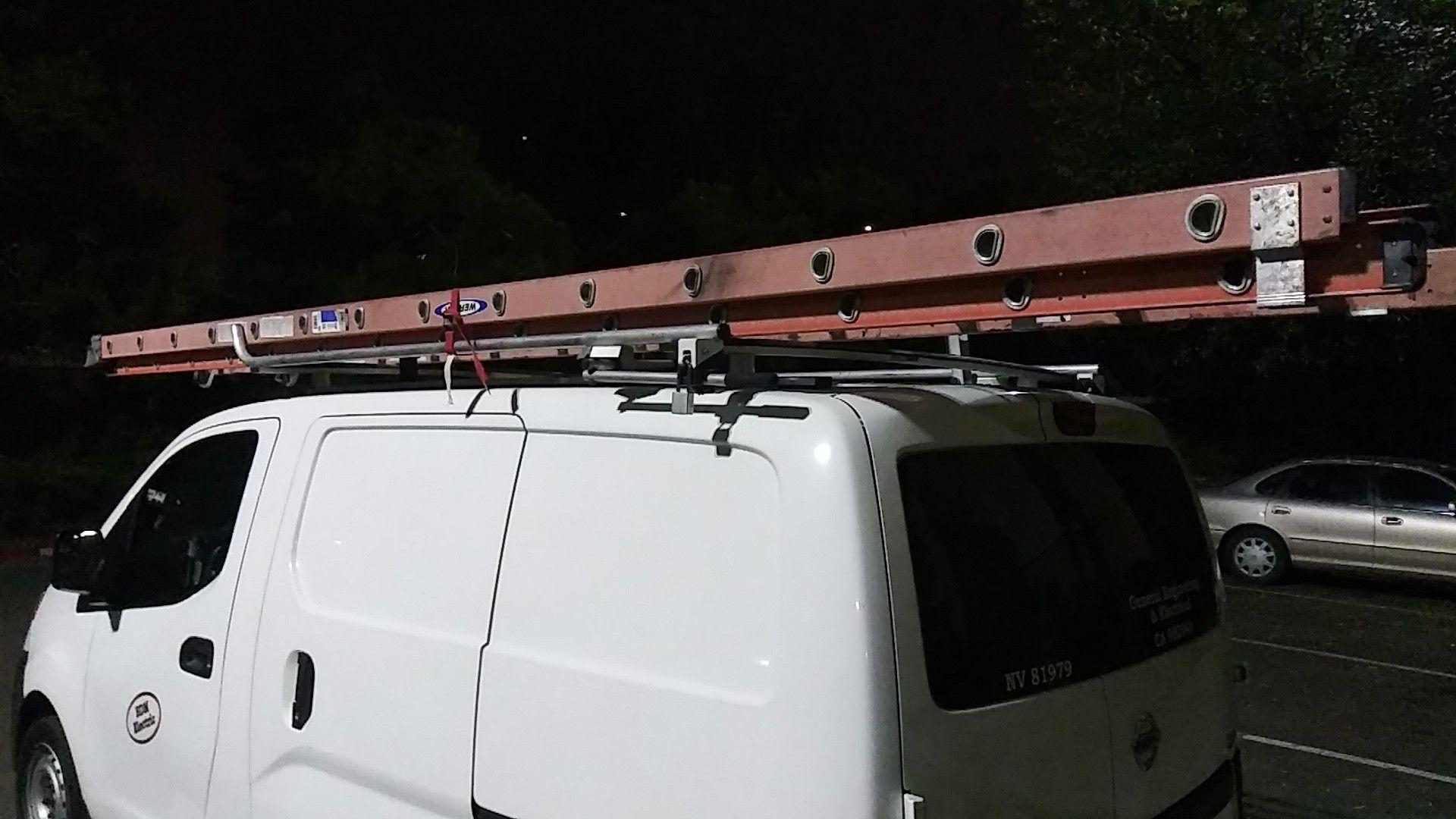 28 foot werner extension ladder