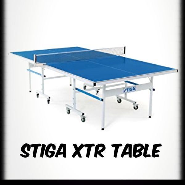 Stiga Xtr Outdoor Table Tennis Ping Pong Durable Perfect For The Patio Or Garage New