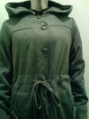 7693d4b6dcb1 Charcoal gray girls coat with hoodie for Sale in Yonkers