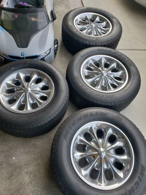 Chrome Wheels 5x150 for Sale in Florissant, MO