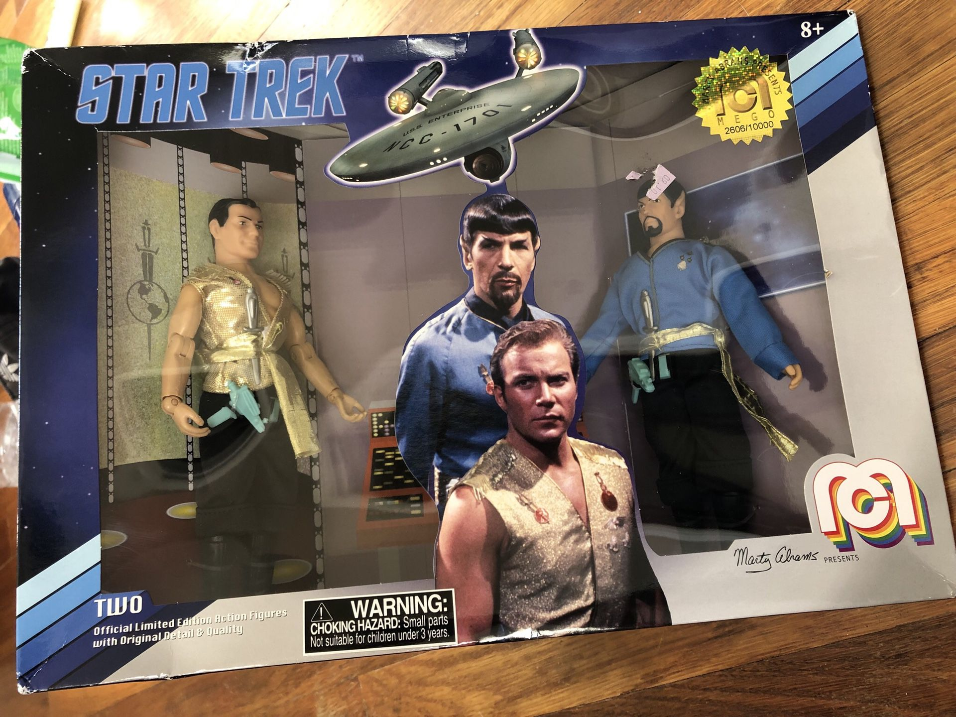 Star Trek limited edition action figures
