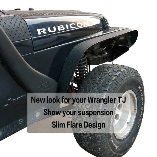Jeep Wrangler Tj Lj Flat Fenders For Sale In Riverside, CA