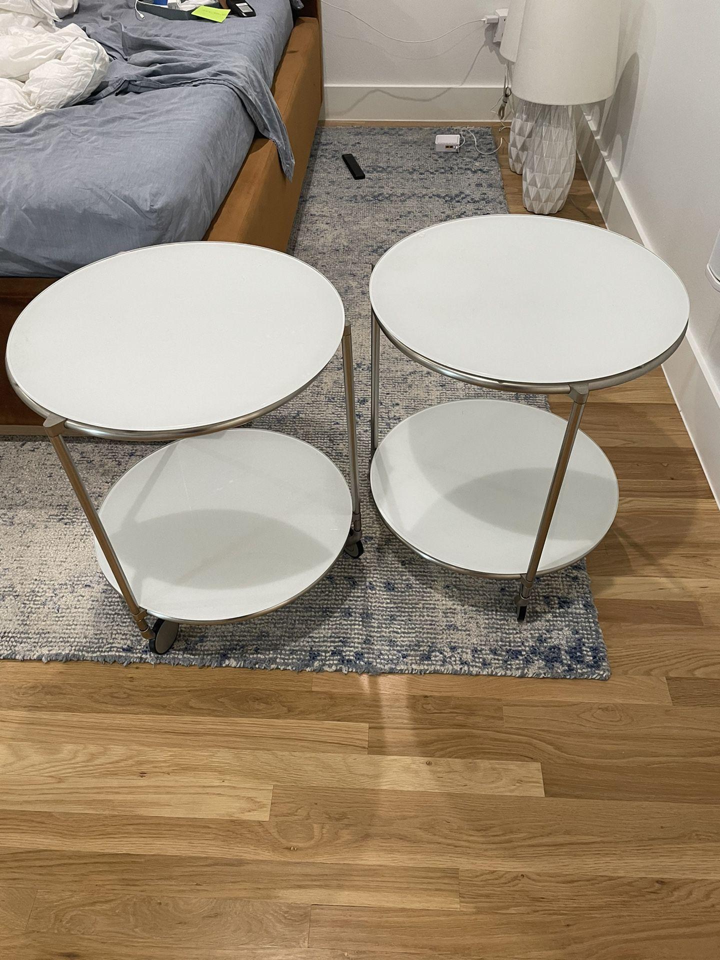 2 Nightstands,  IKEA