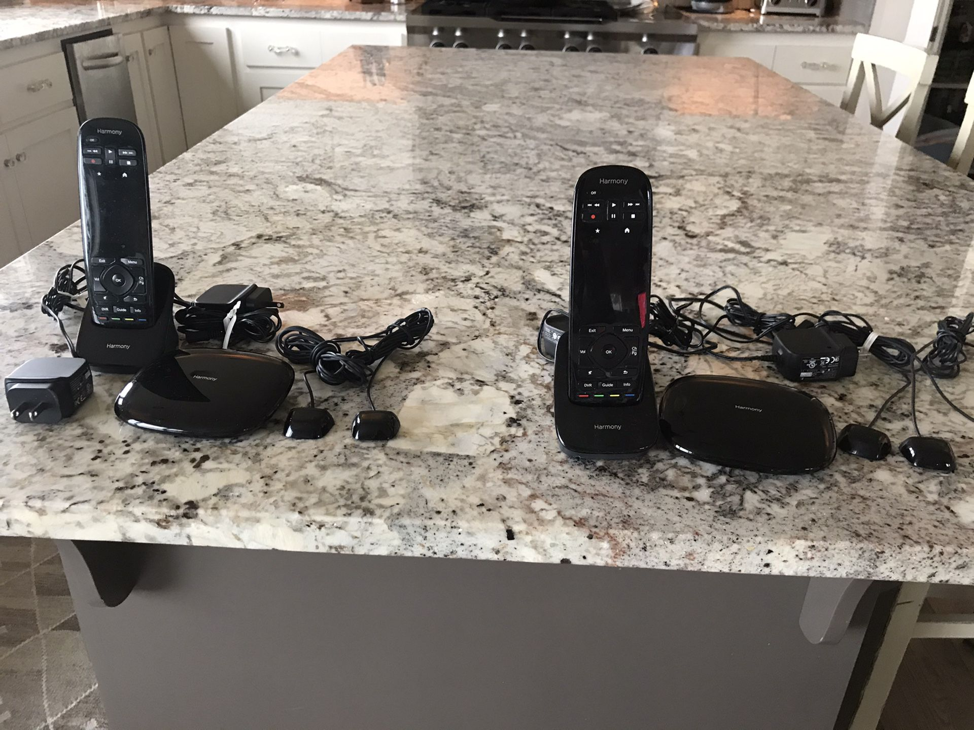 Two Logitech Harmony Ultimate Home System $250