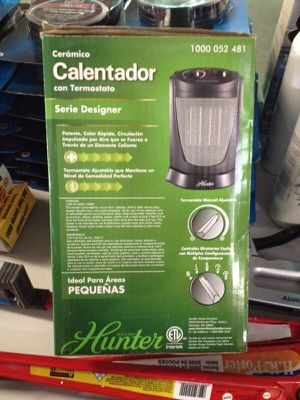 Hunter heater ceramic with thermostat for Sale in Phoenix, AZ