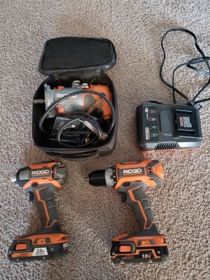 Taladros y router ridgy for Sale in Springfield, VA