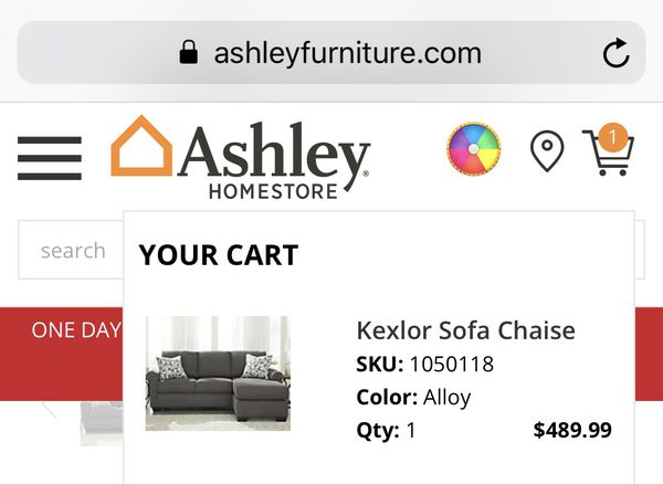 Ashley Furniture Sofa With Warranty Salt Lake City