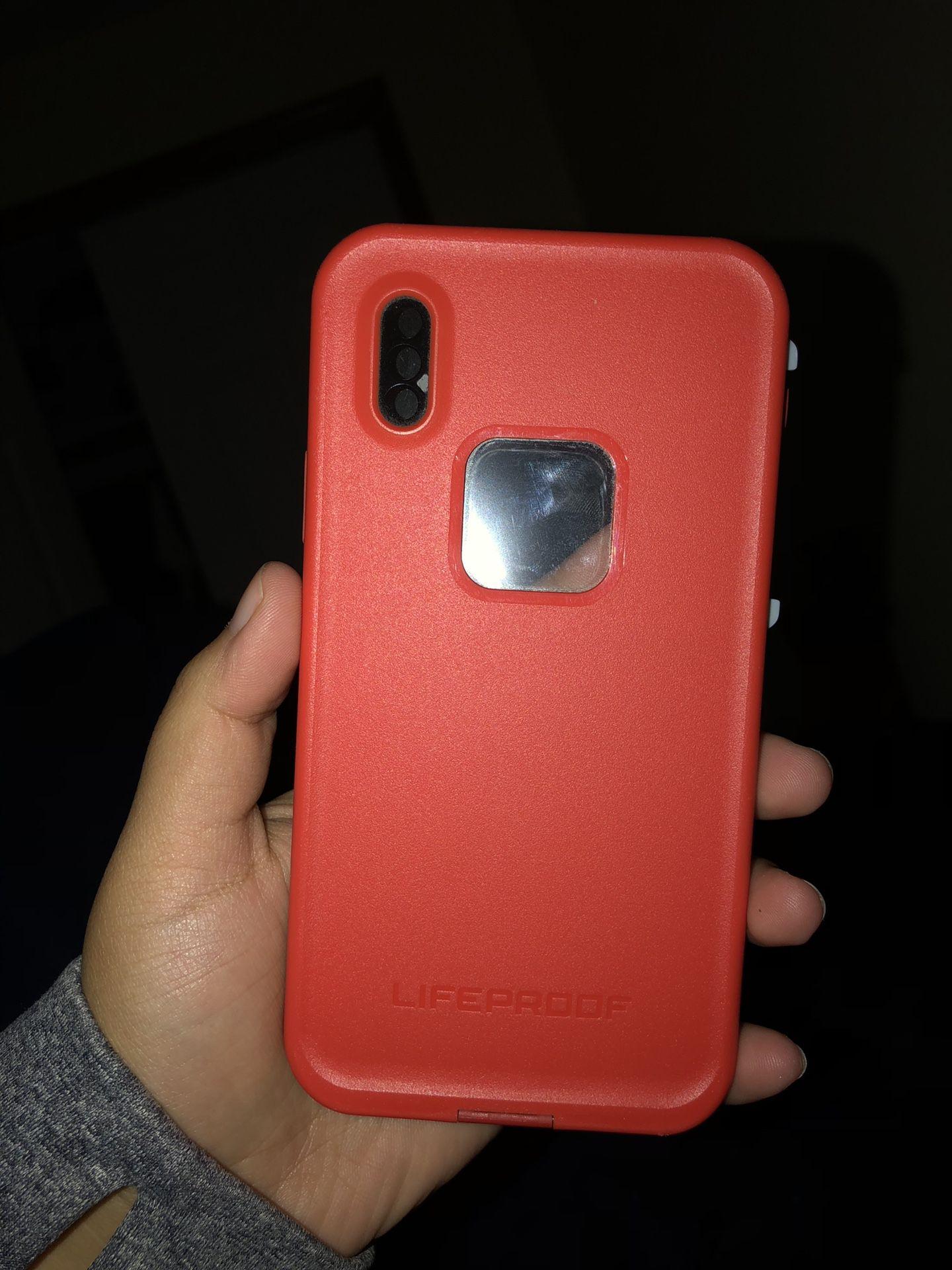 iPhone X Lifeproof Case