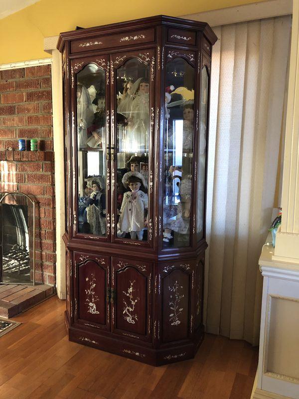 4 Door Cabinet Two Pieces