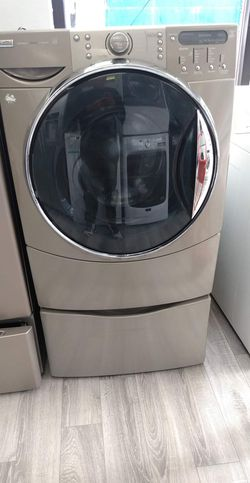 Kenmore  Washer And Gas Dryer Worh Pedestals Included Set For $745  Thumbnail