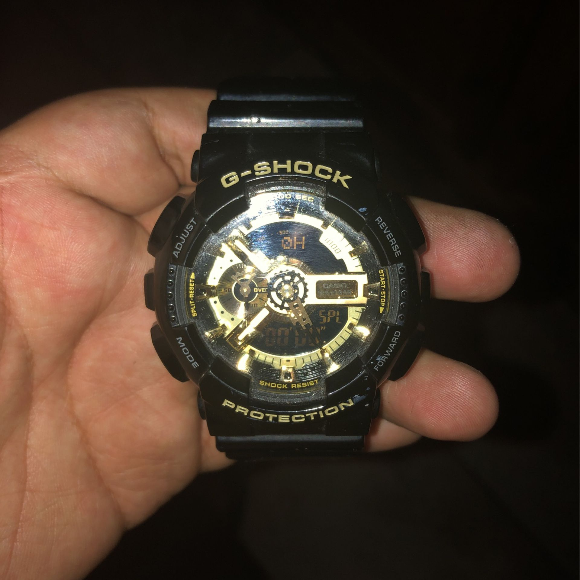 Gold And Black G Shock