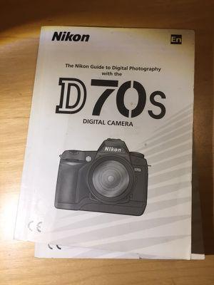 Nikon d70s manual for Sale in Scottsdale, AZ