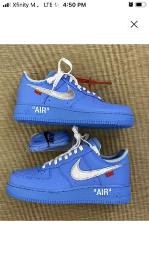 Photo Off white x Nike Air Force 1 low '07 MCA