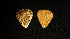 guitar pick real gold 24k (cover) for Sale in Kent, WA
