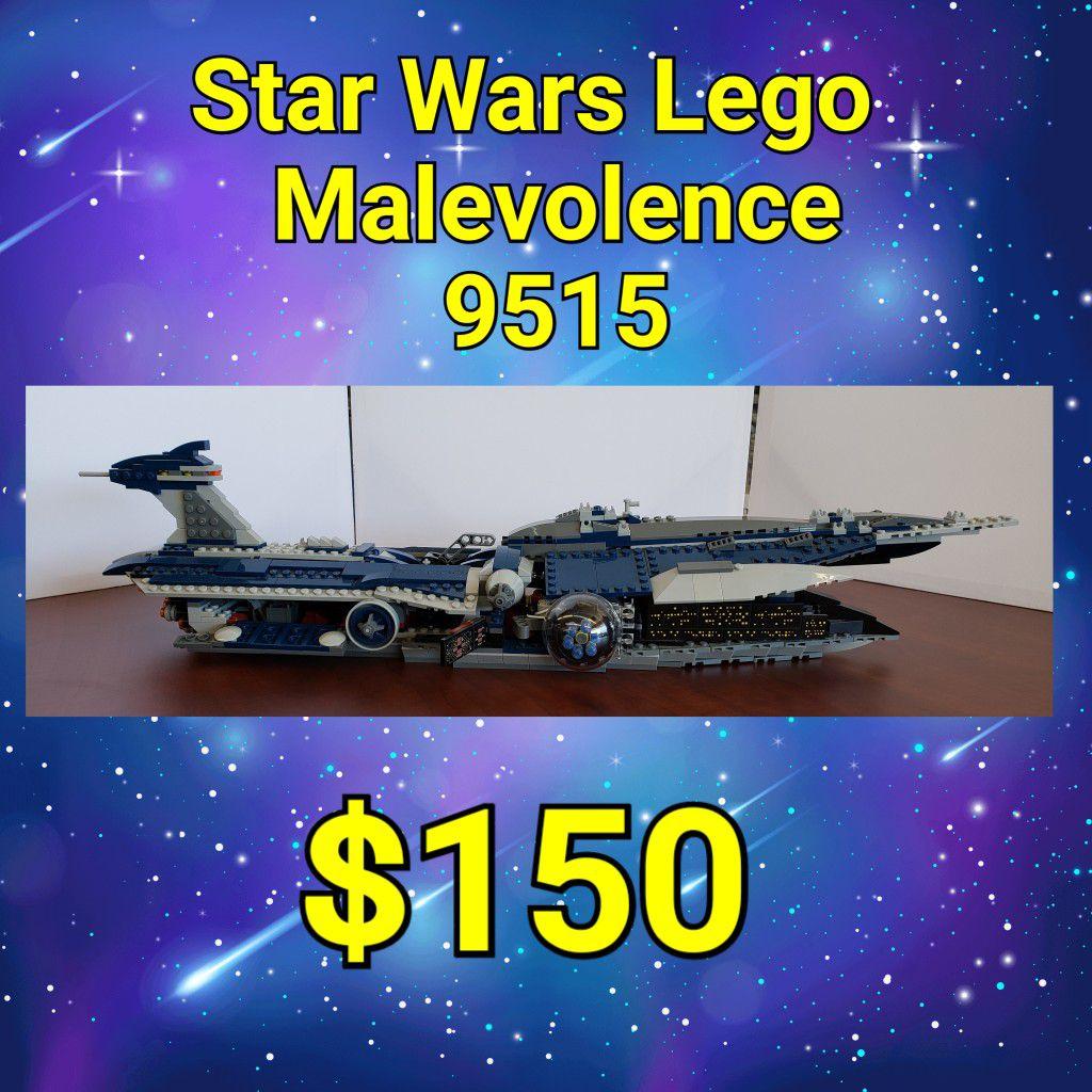 Vintage Star Wars LEGO 9515 Malevolence: njft collectibles
