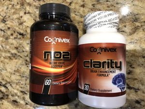 Coinvex Brain Dietary Supplement + NO2 Nitric Oxid supplement for Sale in Ashburn, VA