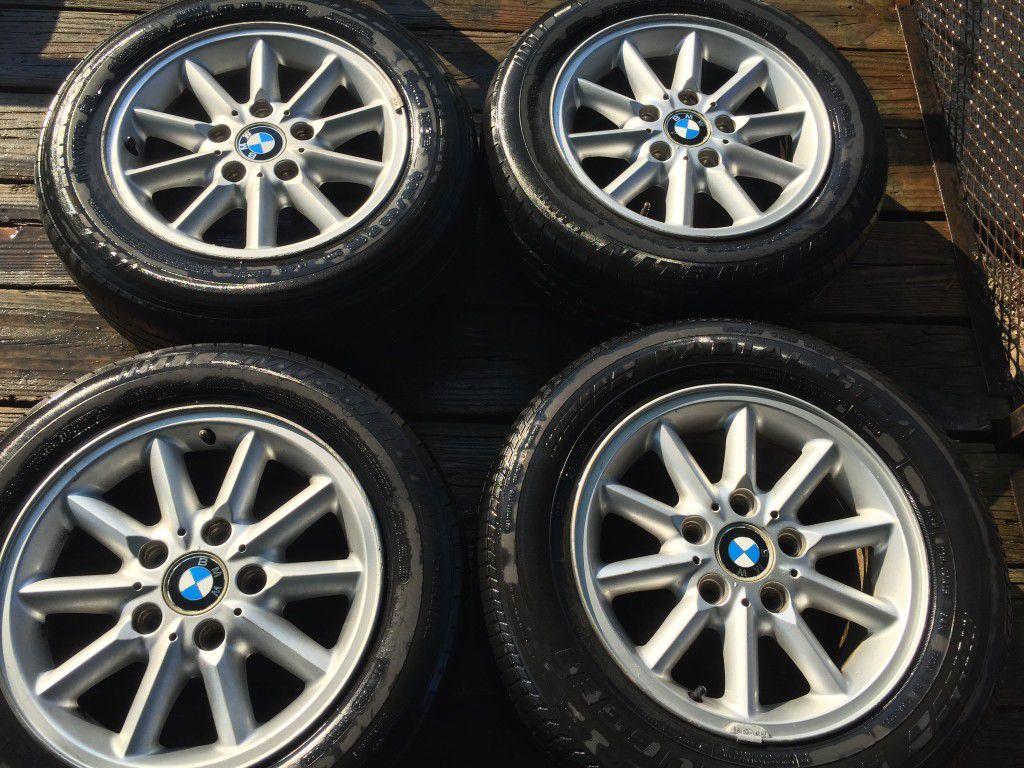 """4 BMW Rims - 15"""" Make an offer"""