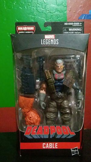 Marvel Legends Cable action figure Sasquatch baf for Sale in Laveen Village, AZ