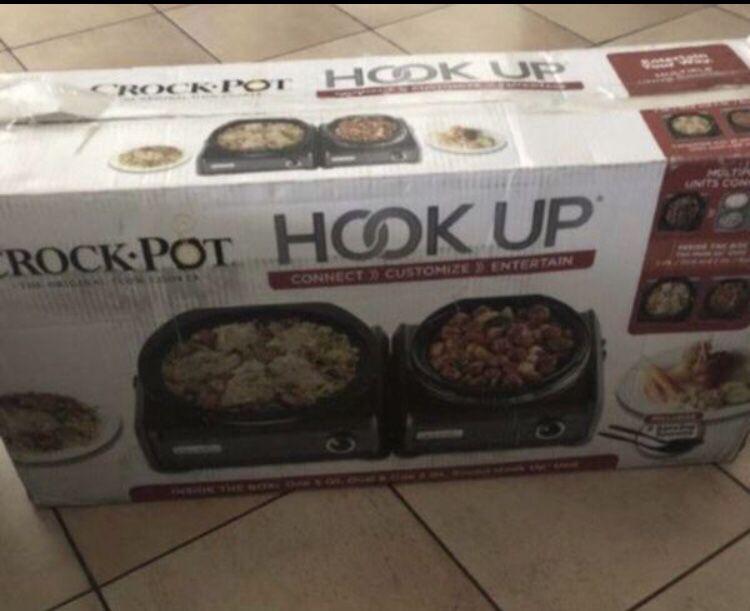 Crockpot hookup with 5qt & 2 qt