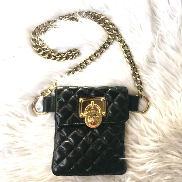 b1ffe2e222f0 MICHAEL KORS Mini Chain Hip Belt Bag for Sale in San Lorenzo, CA ...