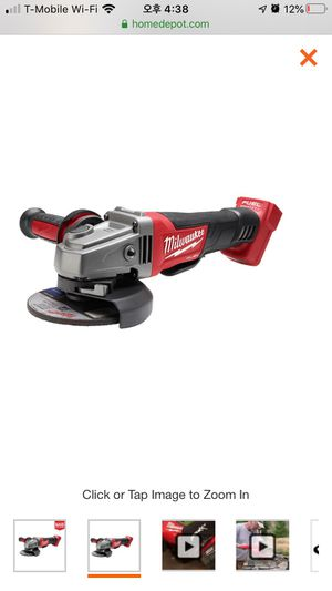 Photo M18 FUEL 18-Volt Lithium-Ion Brushless Cordless 4-1/2 in. / 5 in. Grinder with Paddle Switch (Tool-Only)