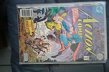 Action Comics Superman Vintage 1970's Thumbnail