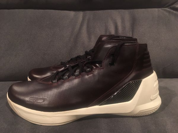 pretty nice 53b13 6d307 Under Armour Men's UA Curry 3 Lux Limited Edition Shoes Oxblood Leather  Mens 13 for Sale in Ontario, CA - OfferUp