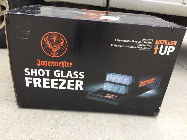 Jagermeister Speed Pour 36 Shot Glass Cooler Freezer Jager New In