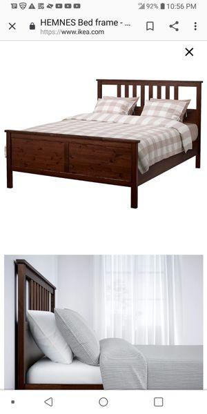 Photo Queen bed IKEA new