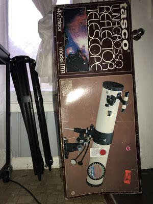 Tasco lunagrosso reflector telescope for Sale in Smyrna, TN