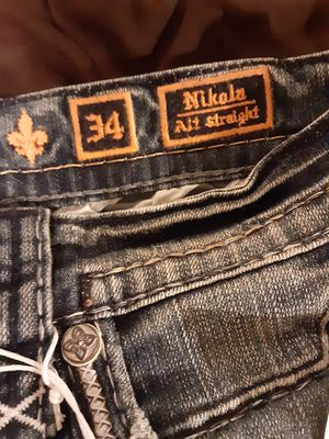 Photo Brand new Rock Revival Mens Jeans