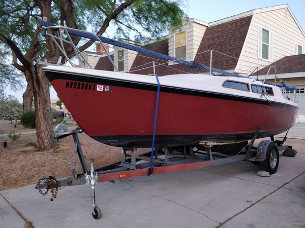1986 macgregor 25 sailboat with trailer