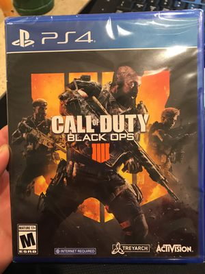 Call of Duty Black Ops 4 PS4 Brand New! for Sale in San Lorenzo, CA