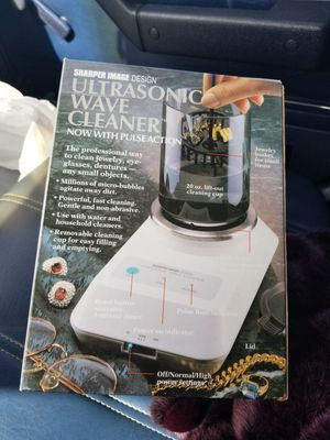 Ultrasonic jewelry cleaner for Sale in Orting, WA