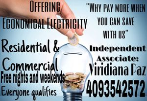 Electricity for Sale in Houston, TX