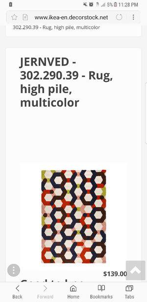 Rug (Ikea) for Sale in Ypsilanti, MI