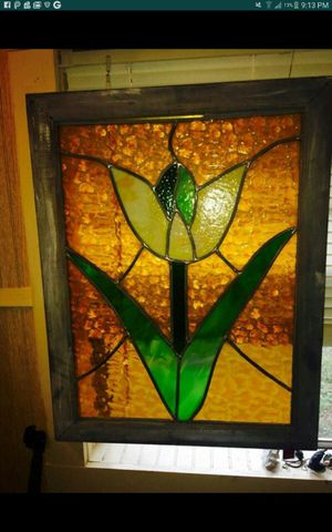 Antique collectable stained glass tulip.... for Sale in Austin, TX
