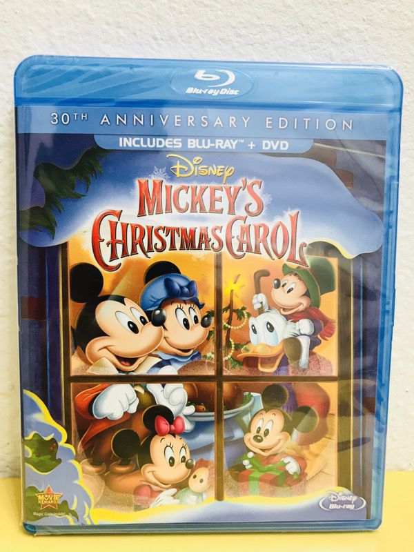 15sold - Mickeys Christmas Carol Blu Ray