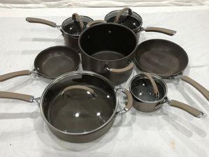 Photo Circulon Pots & Pans 11 Piece Non Stick Pot & Pan Cookware Set