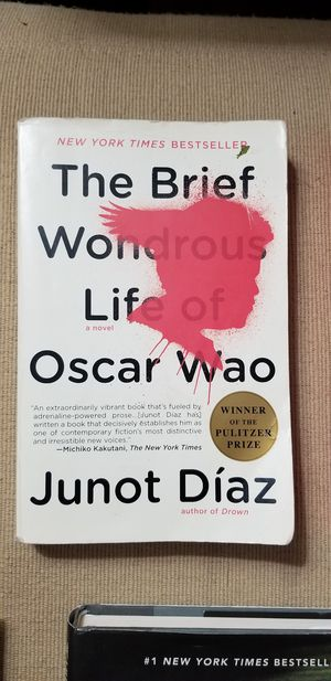 The Brief Wonderous Life of Oscar Wao by Junot Diaz paperback for Sale in Cleveland, OH