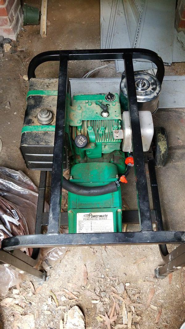 Coleman Powermate 4000 watt generator for Sale in Salisbury, NC - OfferUp