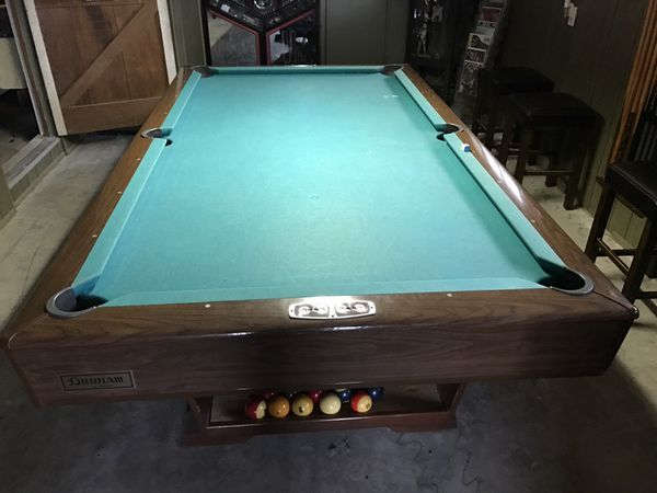 Brunswick Dunham Antique Pool Table For Sale In Burbank CA OfferUp - Brunswick dunham pool table