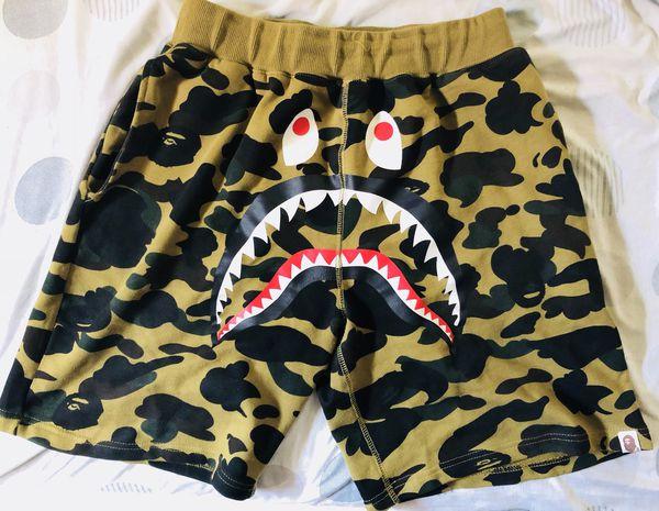 97f75a48ab83 Bape shark camo shorts for Sale in New York