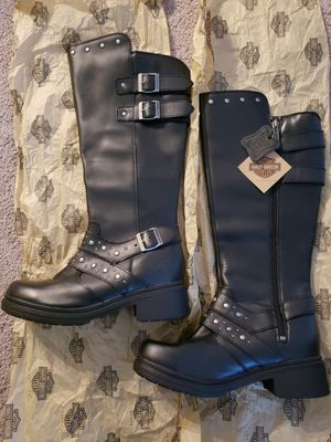 Woman Harley Davidson boots for Sale in Sully Station, VA